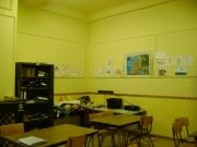 One of the Ecole de Devoir's classrooms for older kids